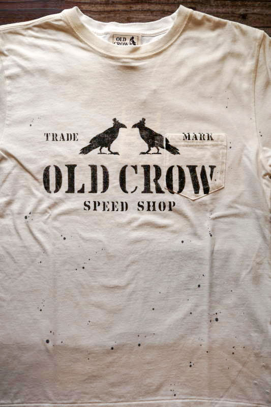 OLD CROW TWO CROW - S/S T-SHIRTS WHITE