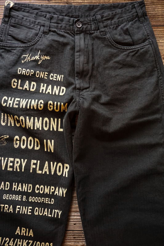 BY GLAD HAND GLAD CHEWING GUM - PANTS BLACK