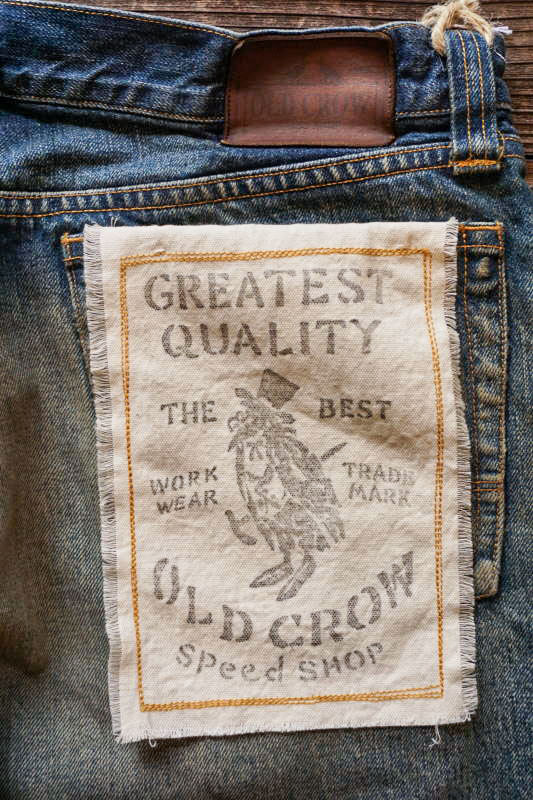 OLD CROW OLD RODDER - DENIM  PANTS USED