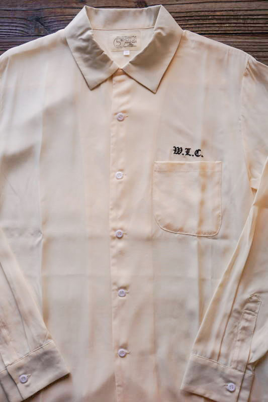"5 WHISTLE CLOTHING ""W.L.C"" WHITE"