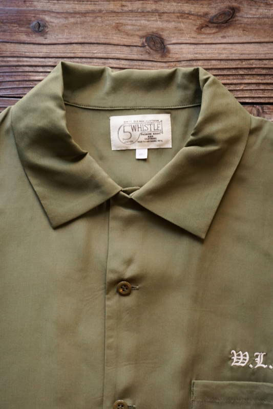 """5 WHISTLE CLOTHING """"W.L.C"""" GREEN"""