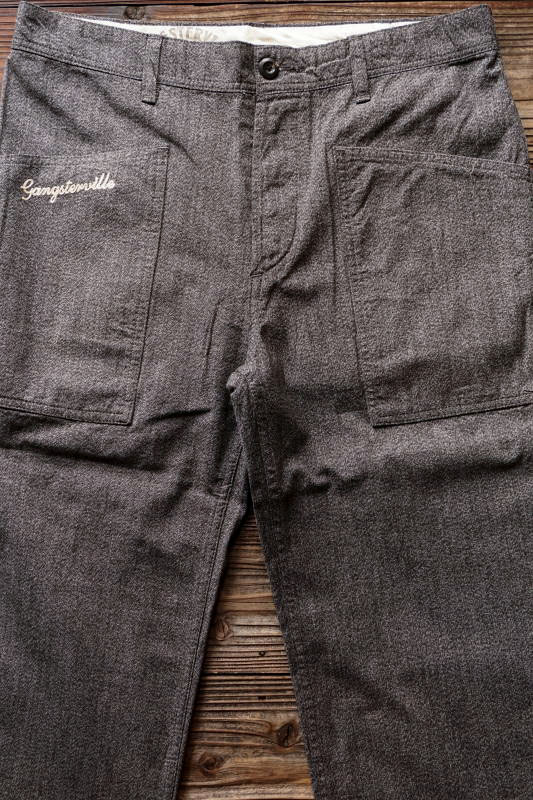 GANGSTERVILLE JACKPOT - PANTS BLACK