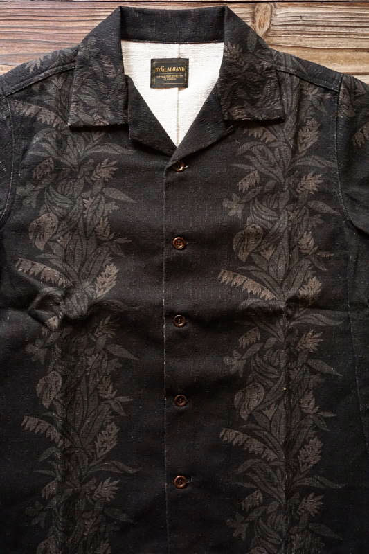 BY GLAD HAND TROPICAL - S/S SHIRTS BLACK