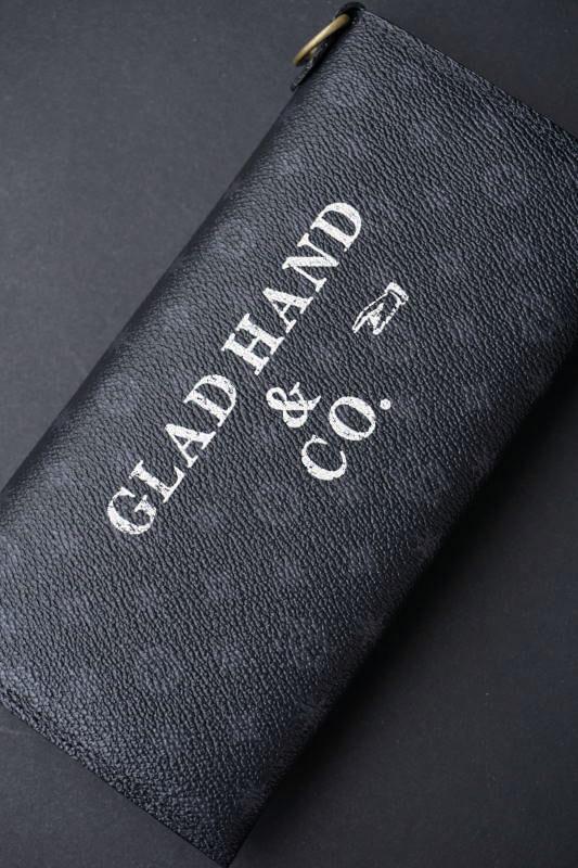 GLAD HAND×PORTER GH - BELONGINGS WALLET FAMILY CREST SP #002