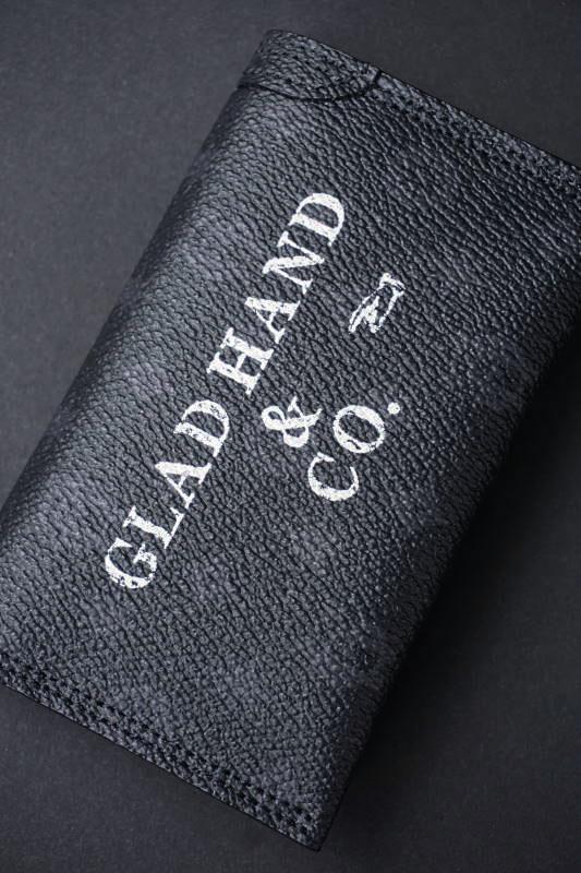 GLAD HAND×PORTER GH - BELONGINGS CARD CASE FAMILY CREST SP #002