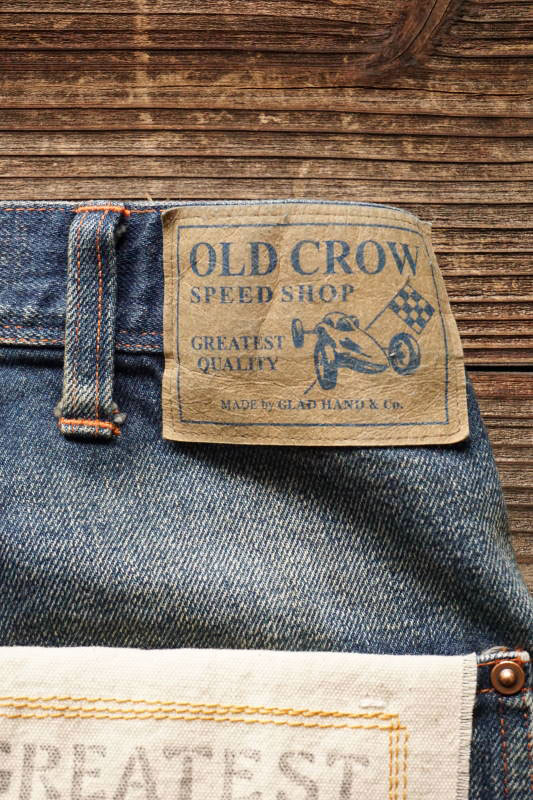 OLD CROW OLD PAINTER - DENIM  PANTS USED