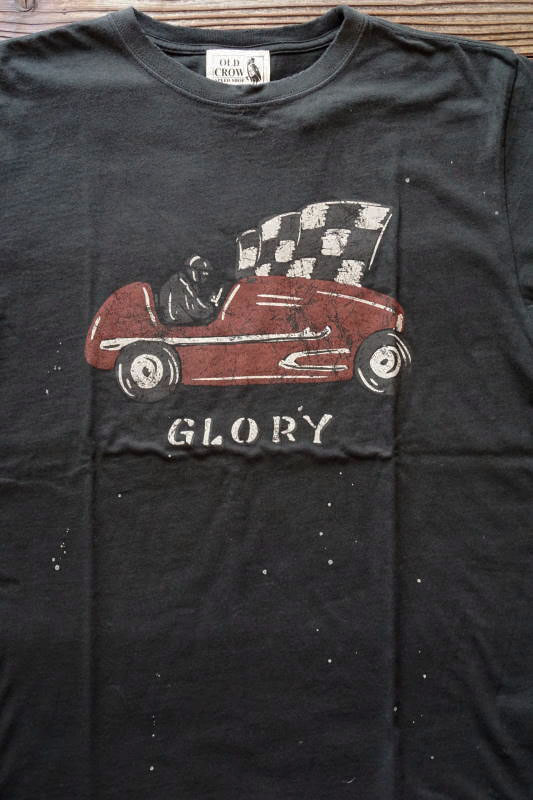 OLD CROW GLORY - S/S T-SHIRTS BLACK
