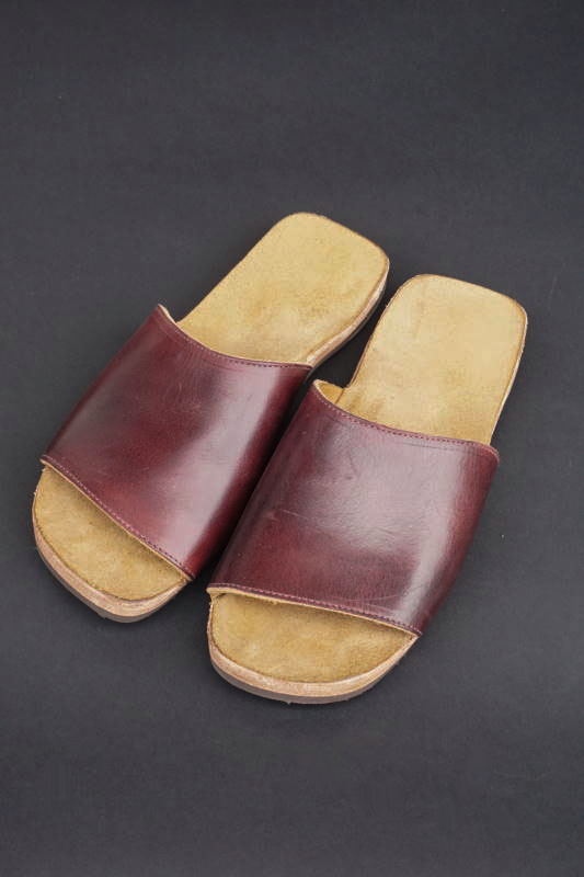 CLINCH Vamp sandal Latigo OD Burgundy