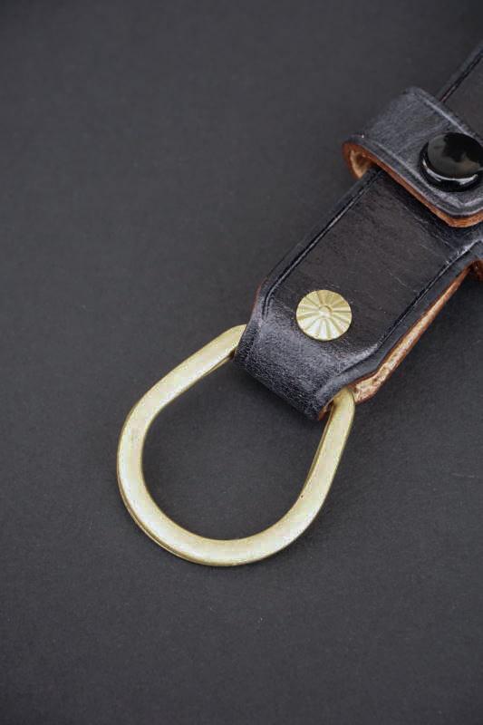 Brass Shoe Co. Key case Latigo Black OD