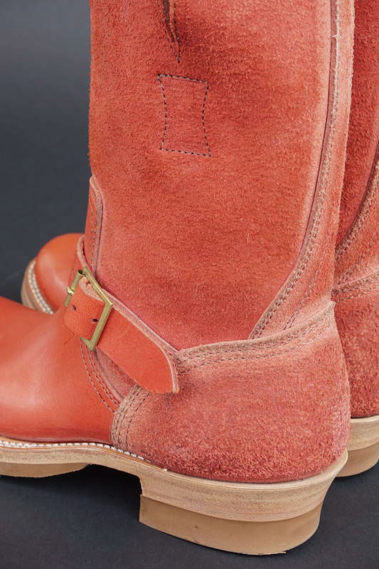CLINCH Engineer boots Full VG RED-Smooth×Roughout