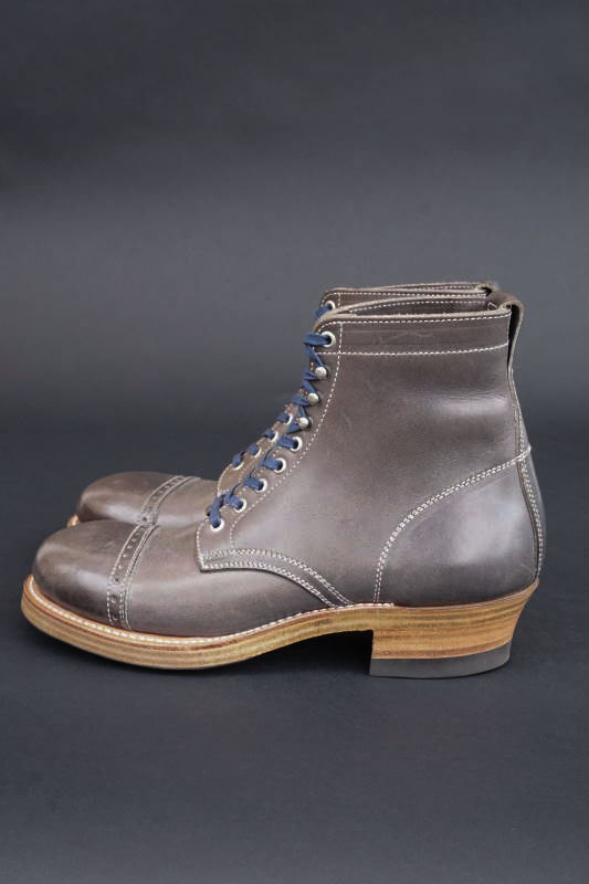 CLINCH Lace up boots WR Cap-toe Full VG Blue