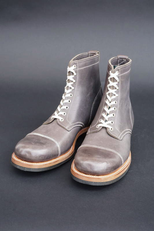 CLINCH Lace up boots NPT Cap-toe Full VG Blue