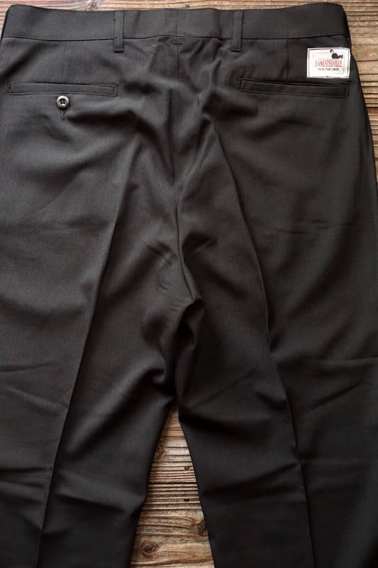 GANGSTERVILLE THUG - PANTS BLACK