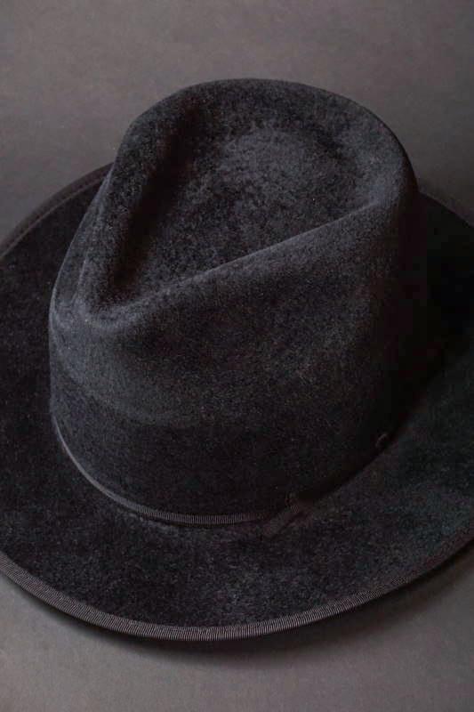 """GANGSTERVILLE JACK - HAT """"RABBIT"""" BLACK"""