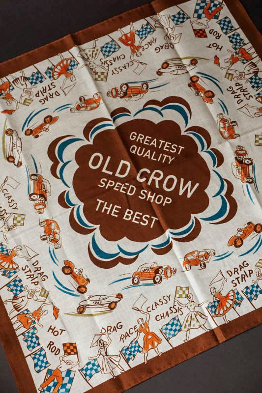 OLD CROW SPEED RACE - BANDANA
