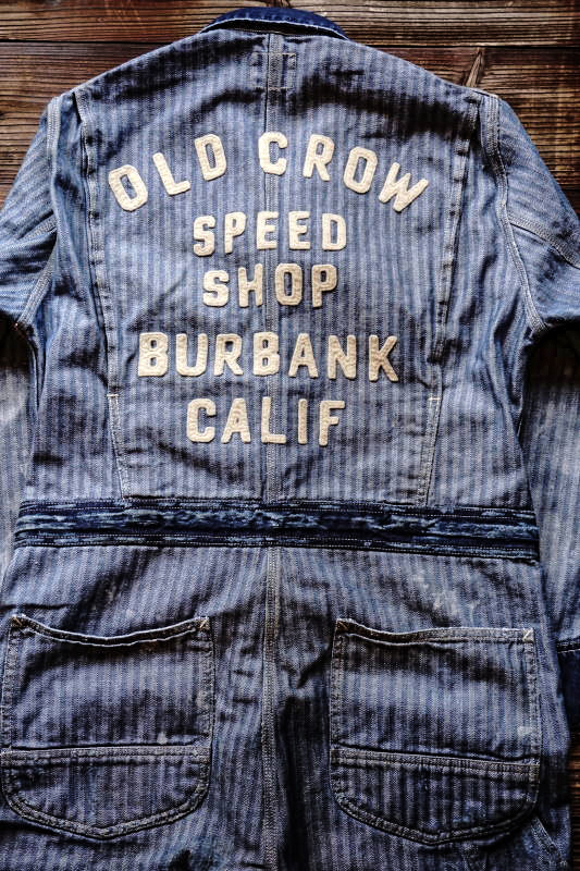 OLD CROW SPEED SHOP - ALL IN ONE INDIGO VINTAGE FINISH