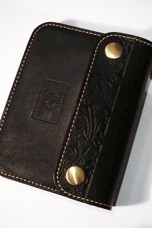 B.S.M.G. Trucker - Wallet Short FLOWER BLACK