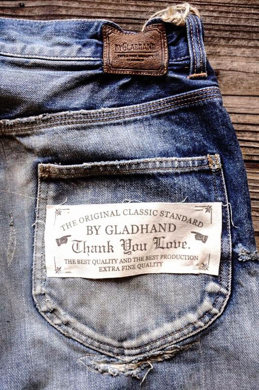 "BY GLAD HAND GLADDEN - DENIM ""TYPE-1"" USED B"