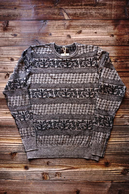 BY GLAD HAND WARDROBE - L/S SWEATER GRAY