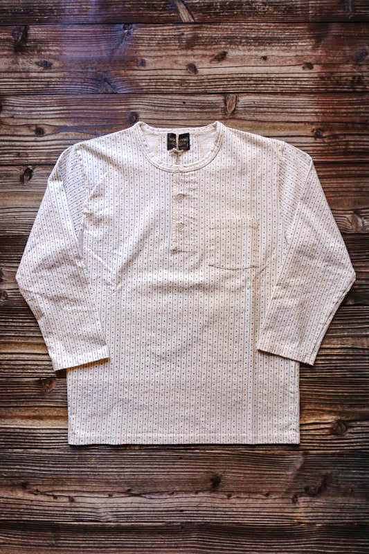 BY GLAD HAND WARDROBE - HENRY NECK L/S T-SHIRTS