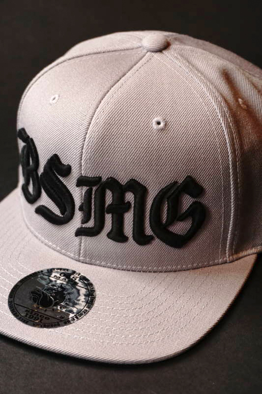 B.S.M.G. BASEBALL - CAP GRAY