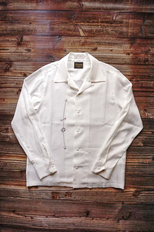 BY GLAD HAND LUXURY - L/S SHIRTS WHITE