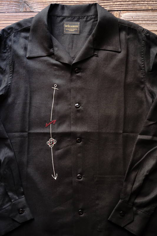 BY GLAD HAND LUXURY - L/S SHIRTS BLACK