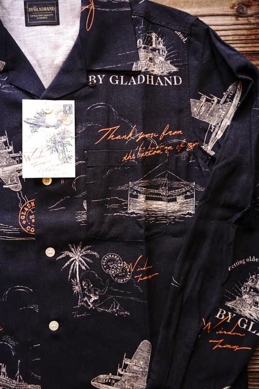 BY GLAD HAND POSTAL - L/S SHIRTS BLACK