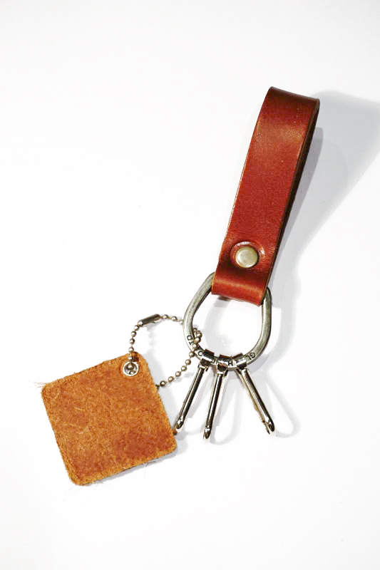 GLAD HAND & Co. GH NORTH & JUDD - KEY FOB GOLDEN BROWN