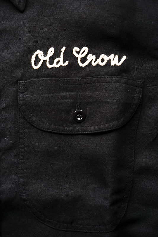 OLD CROW WHISKEY DELIVERY - L/S SHIRTS BLACK