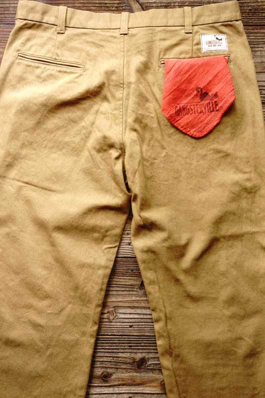 GANGSTERVILLE GREASER - PANTS BEIGE