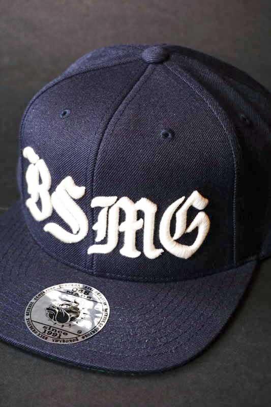 B.S.M.G. BASEBALL - CAP NAVY