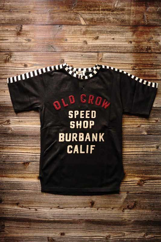 OLD CROW MOTORCYCLE - S/S T-SHIRTS BLACK