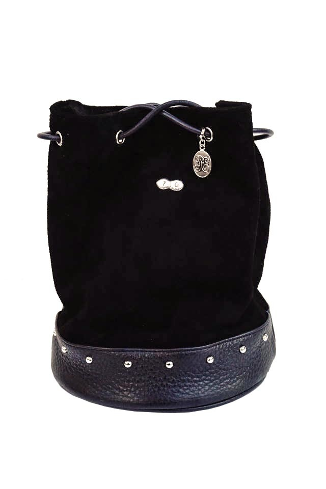 "PEANUTS & Co. Daily Bag ""STUDS"" BLACK"