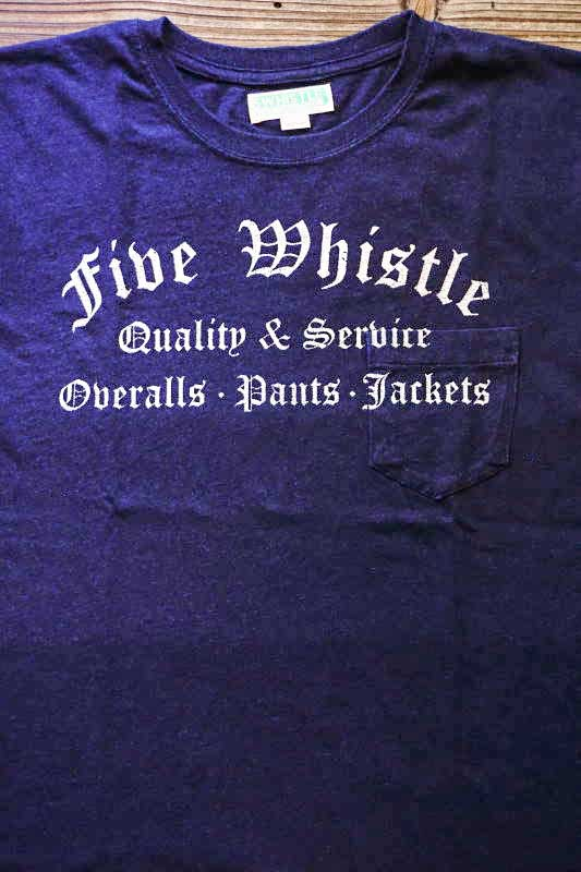 5 WHISTLE 5WL INDIGO TEE DARK INDIGO