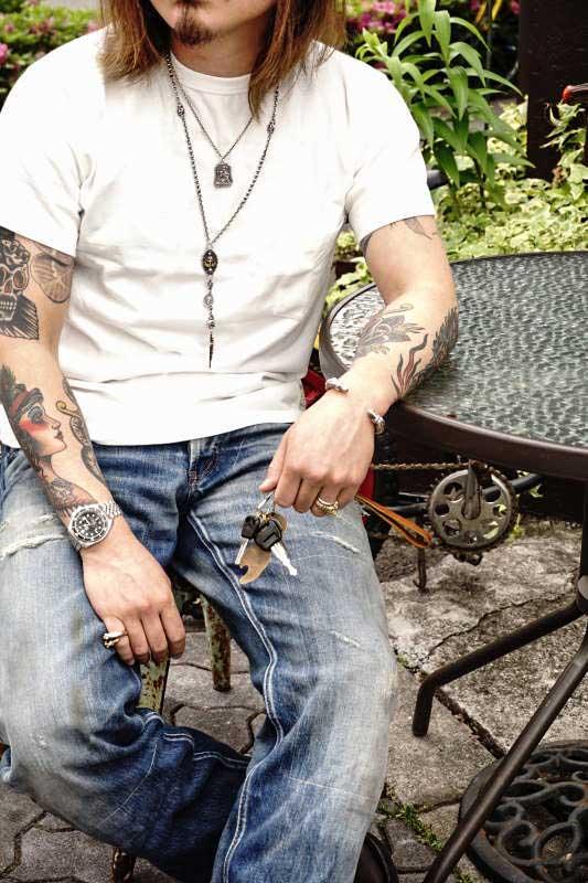 Bull Classics USA COTTON 100% 2PACK T-SHIRTS  CREW NECK POCKET