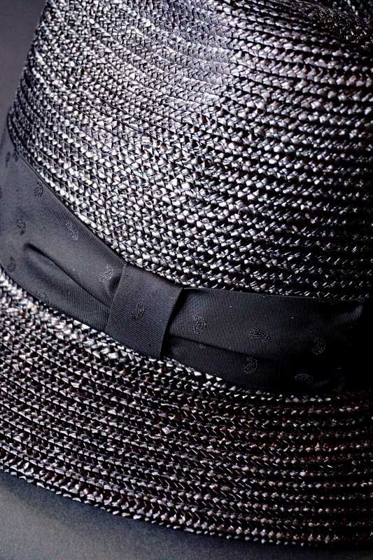 B.S.M.G. PAISLEY - HAT BLACK