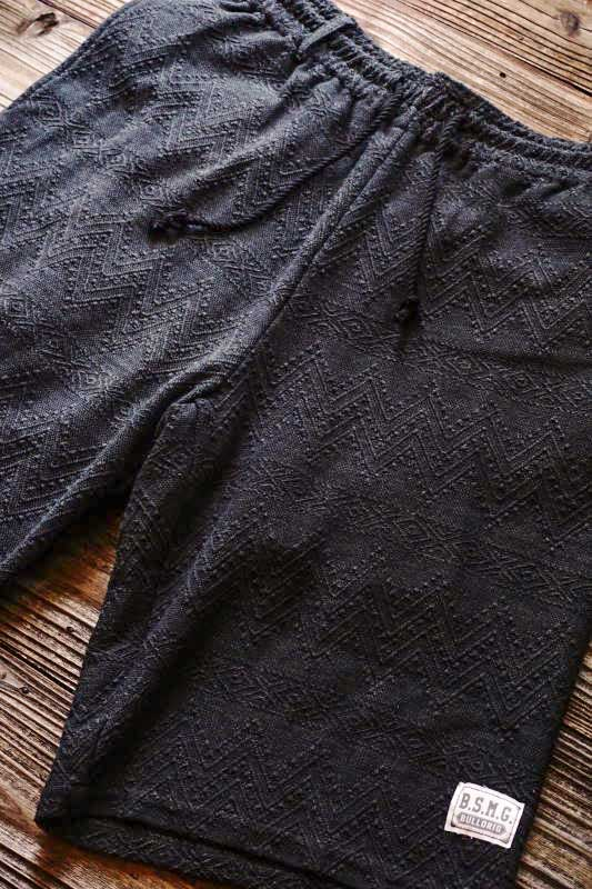 B.S.M.G. GAME - SHORTS BLACK