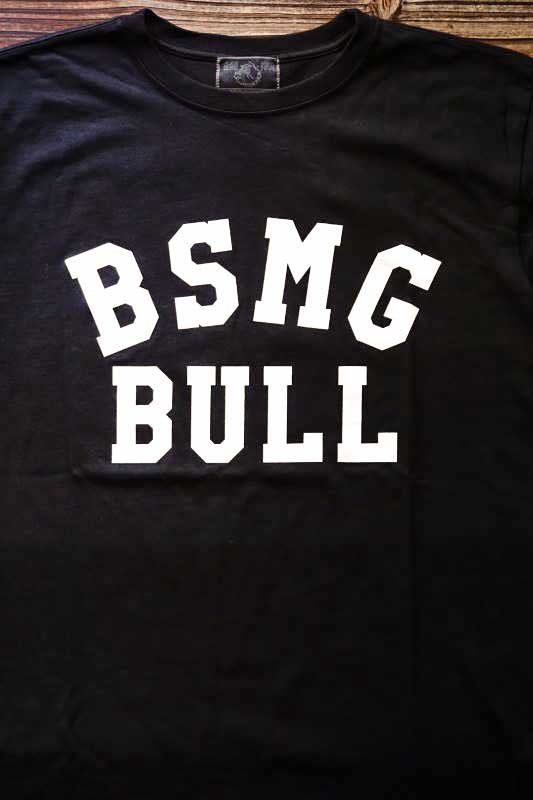 B.S.M.G. GAME - T-SHIRTS BLACK