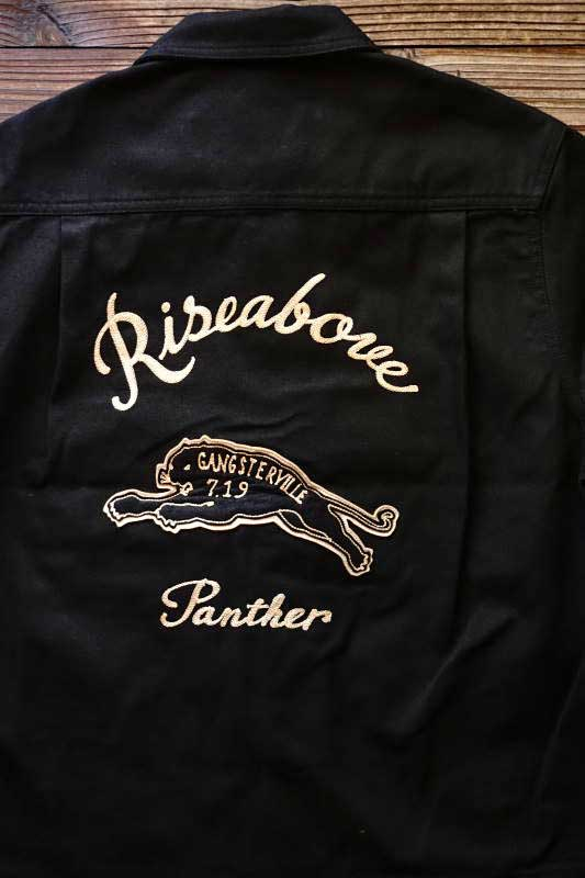 GANGSTERVILLE GREASER - S/S SHIRTS BLACK
