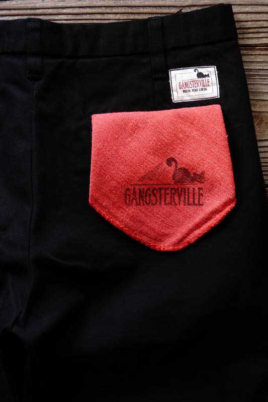 GANGSTERVILLE GREASER - SHORTS BLACK