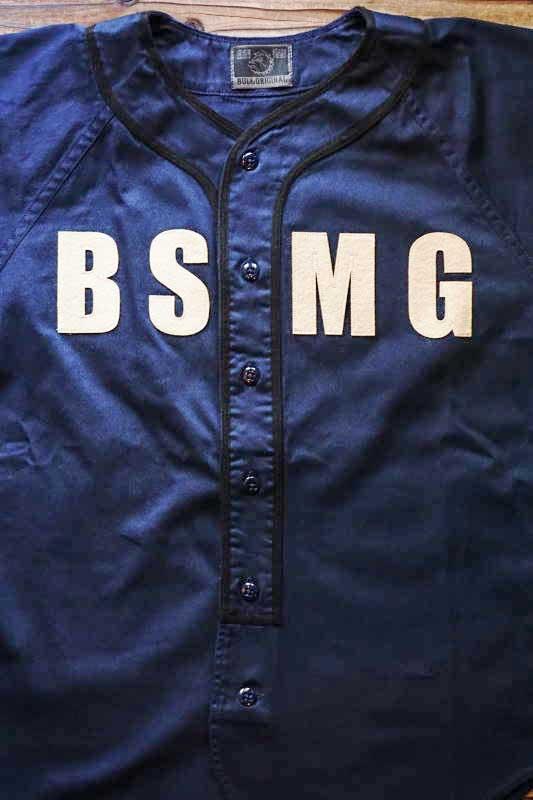 B.S.M.G. BASEBALL - SHIRTS NAVY