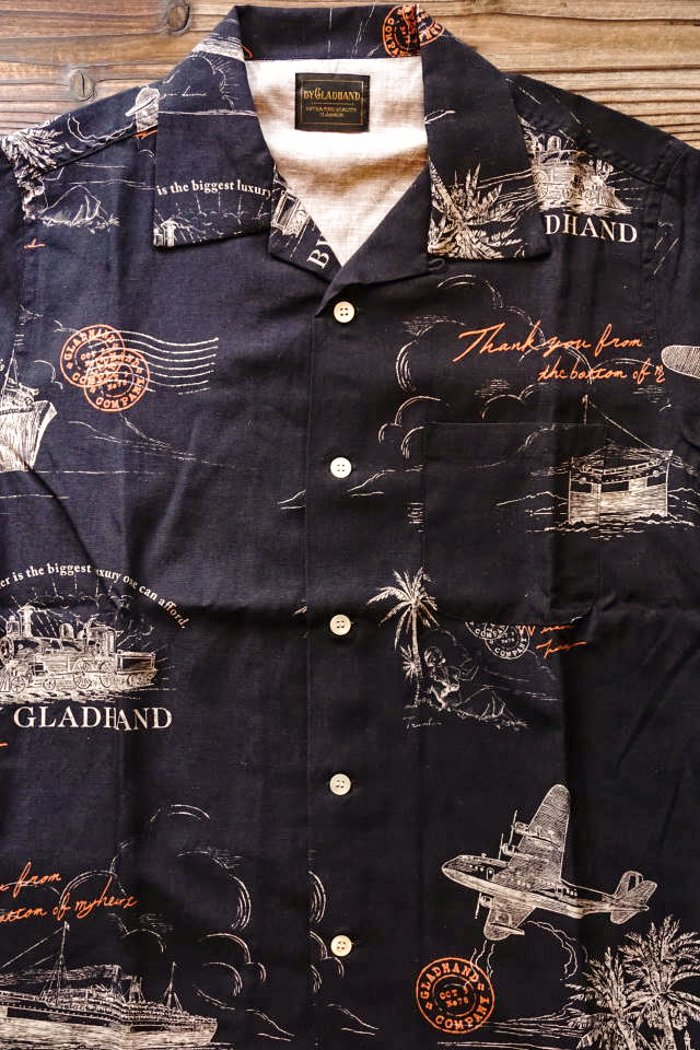 BY GLAD HAND POSTAL - S/S SHIRTS BLACK