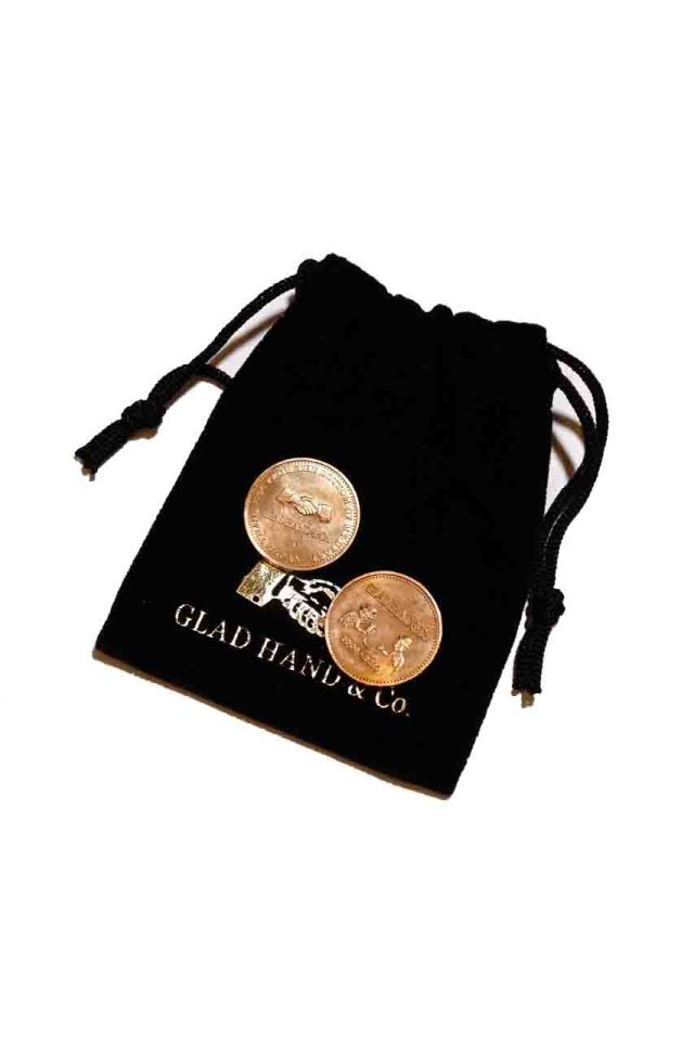 "GLAD HAND MEDAL ""10th ANNIVERSARY"" BRONZE"