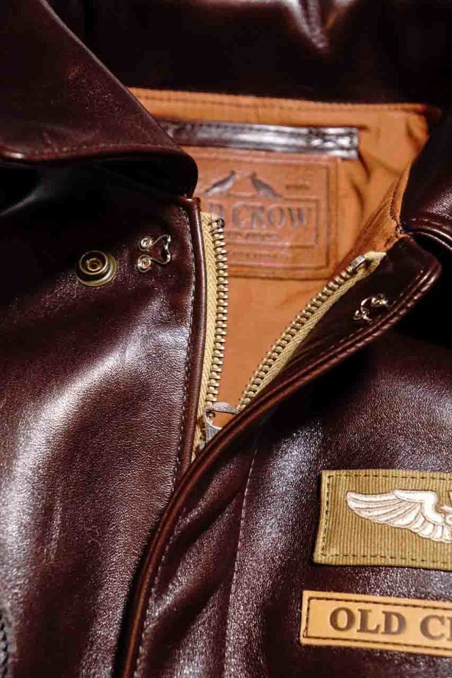 OLD CROW OLDROD A - JACKET BROWN