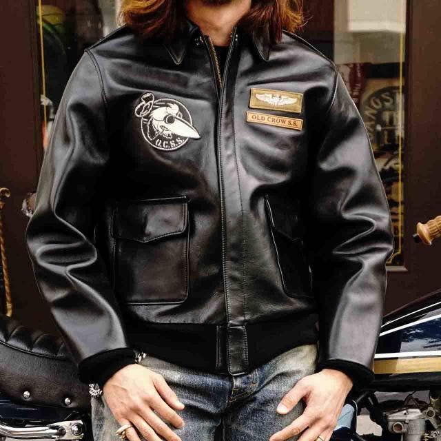 OLD CROW OLDROD A - JACKET BLACK
