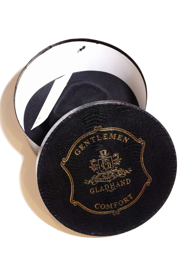 GLAD HAND & Co. -  HAT ALONE BLACK