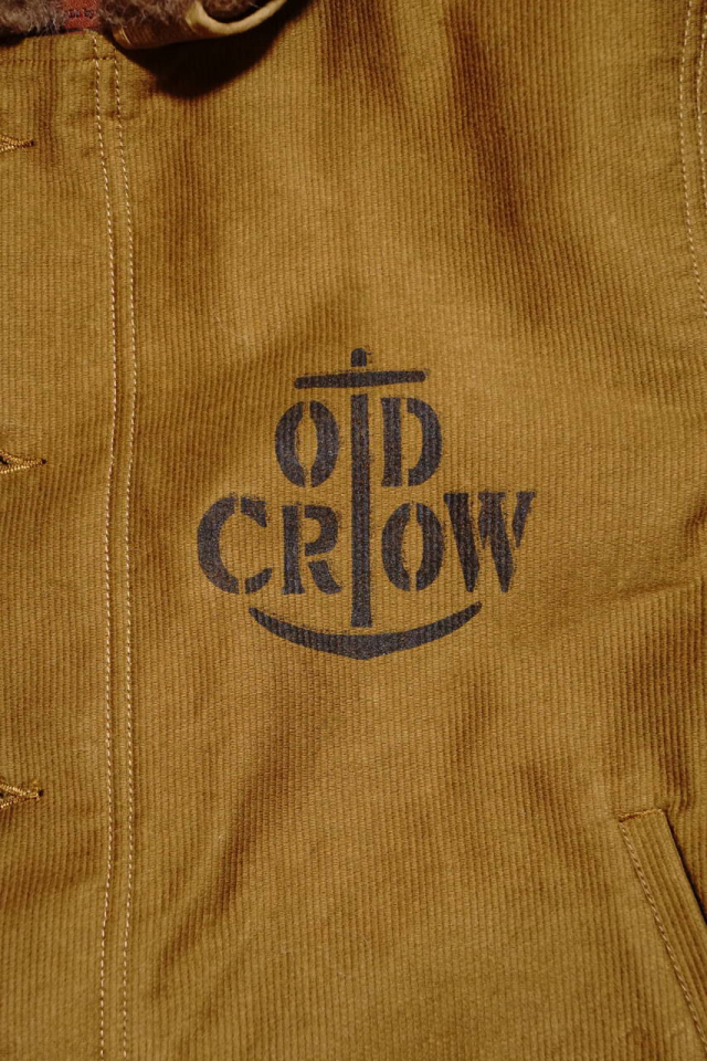 OLD CROW RUNABOUT - DECK JACKET KHAKI