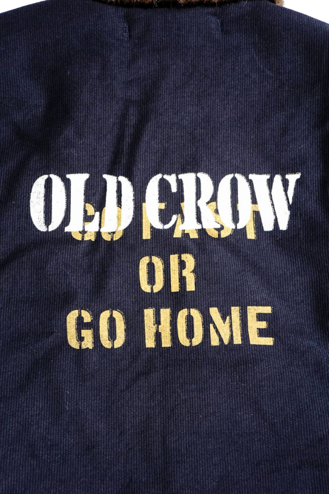 OLD CROW RUNABOUT - DECK JACKET NAVY