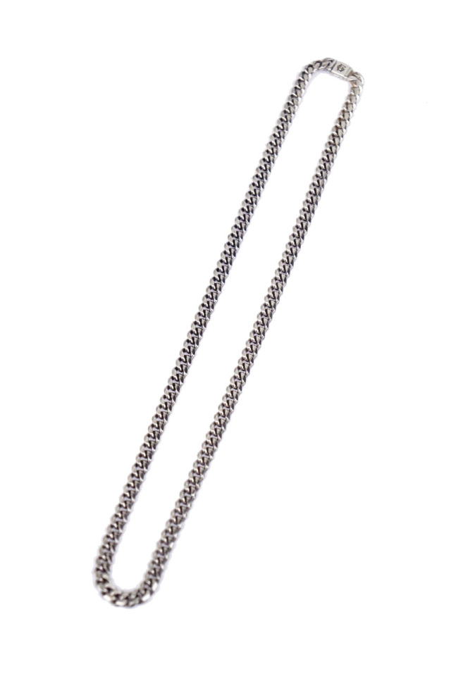 "GLAD HAND JEWELRY NARROW CHAIN NECKLACE SILVER925 ""MADE IN U.S.A."""